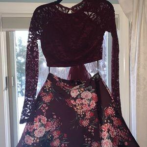 Windsor Size 3/4 2 Piece Longsleeve Dress